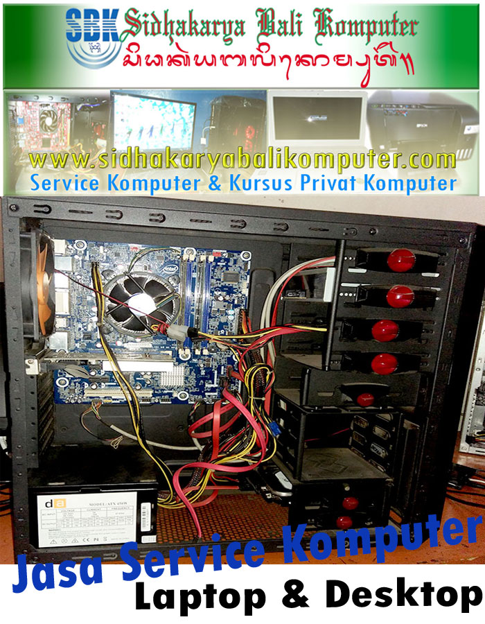 Jasa Service Komputer Desktop dan Laptop