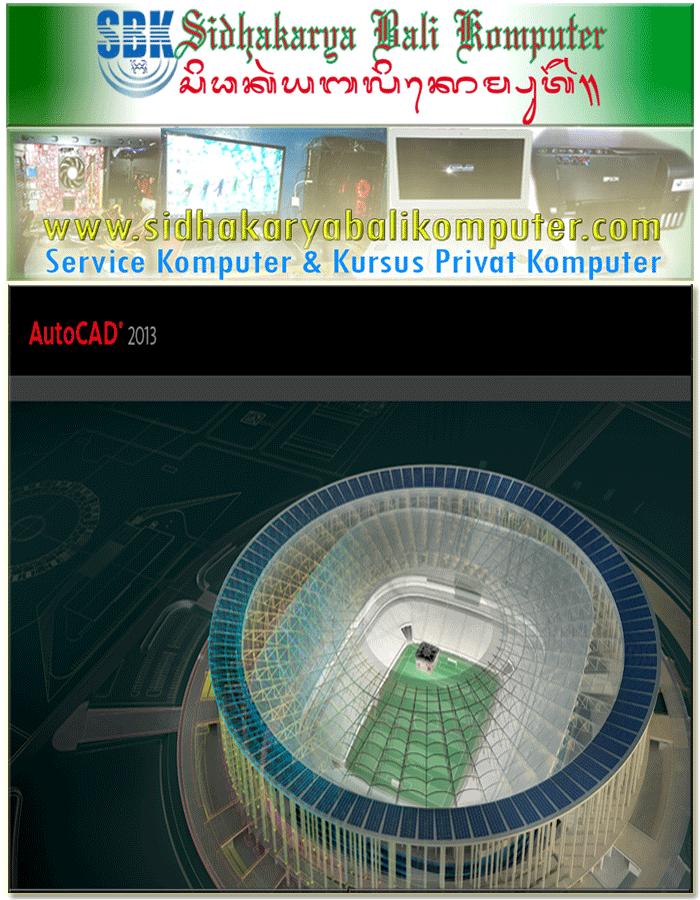 Kursus Arsitek Autocad 2 Dimensi