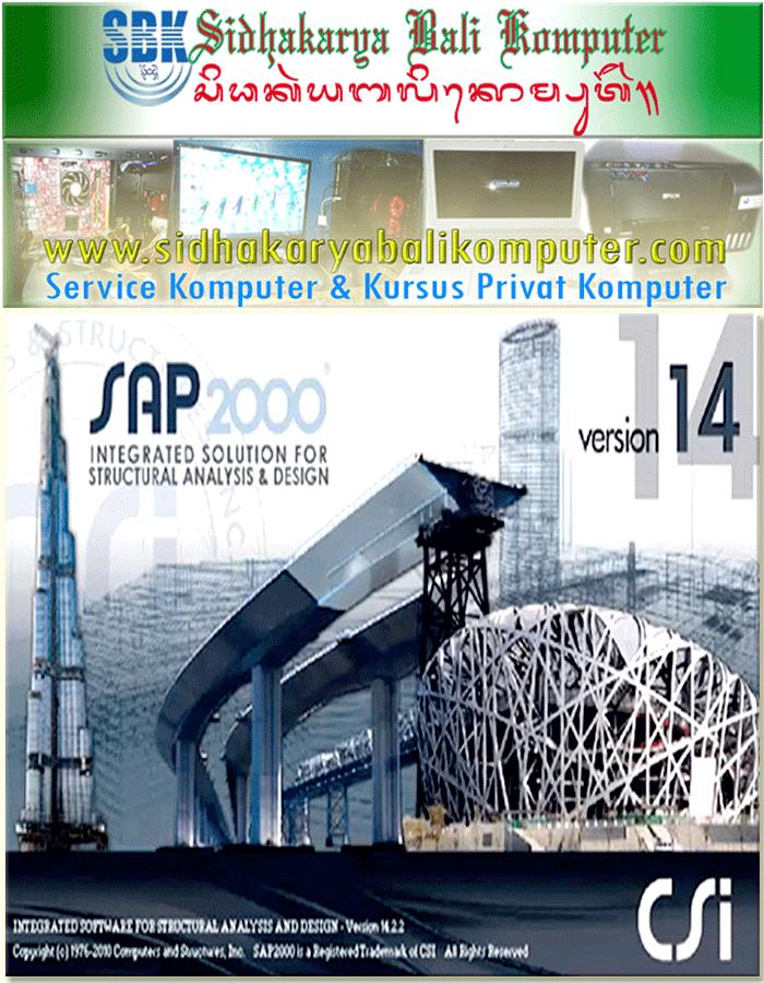 Kursus Aplikasi Arsitek SAP 2000