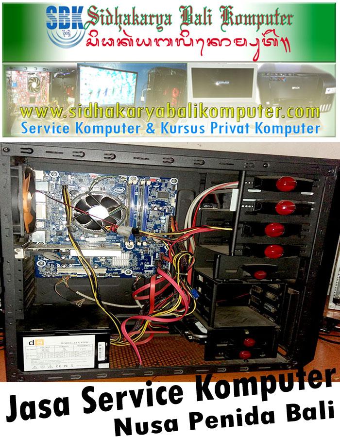 Jasa Service Komputer Nusa Penida